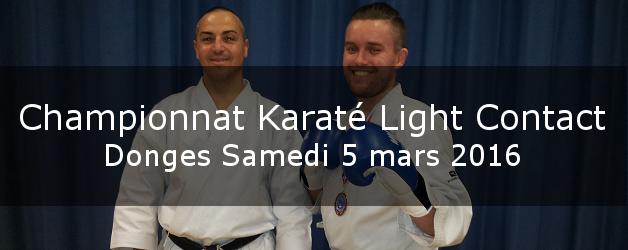 Championnat Karaté Light Contact